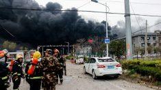 Explosion dans une usine chimique en Chine: le bilan monte à 44 morts