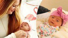 Une mère craintive affiche pour la première fois une photo virale de sa magnifique fille porteuse de la trisomie 21