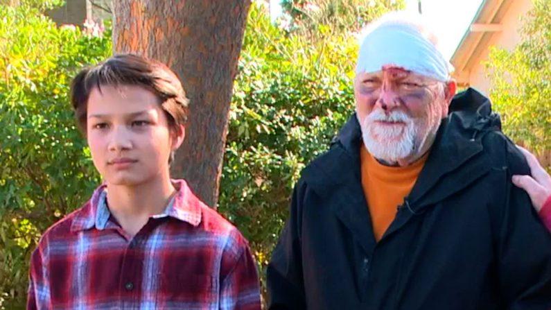 Un «héros» de 12 ans aide un homme âgé de 87 ans après une chute dangereuse
