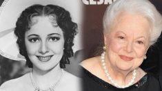 Olivia de Havilland, du film «Autant en emporte le vent», 102 ans, plus belle que jamais