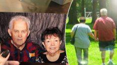Un couple de personnes âgées meurt en se tenant la main après 56 ans de mariage heureux