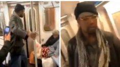 Arrestation d'un homme soupçonné d'avoir donné des coups de pied à une femme âgée dans le métro