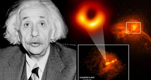 Image historique d'un trou noir dont on dit qu'il prouve la théorie de la relativité d'Einstein