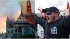 Incendie de Notre-Dame– Des antifas se réjouissent du drame: «La seule église qui illumine est celle qui brûle»