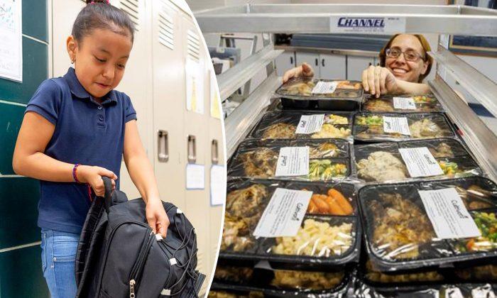 Cette école transforme les repas non servis en plats à emporter le week-end pour les élèves dans le besoin