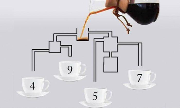 Casse-tête: «Qui prend le café en premier?» tout le monde se presse de résoudre l'énigme