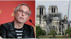 Incendie de Notre-Dame de Paris– «On pourrait presque penser à un signe », selon Fabrice Luchini