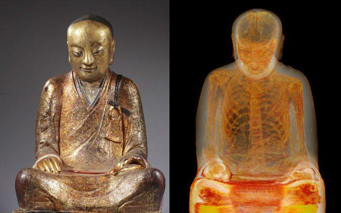 Des scientifiques scannent une statue de Bouddha vieille de 1000 ans et découvre quelque chose d'incroyable à l'intérieur