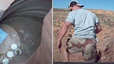 Un soldat américain part en randonnée - ce qu'il découvre au fond d'un canyon de 100 mètres de profond le rend fou