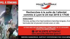 Appel à témoin : un suspect en fuite après le mystérieuse attentat au colis piégé hier à Lyon