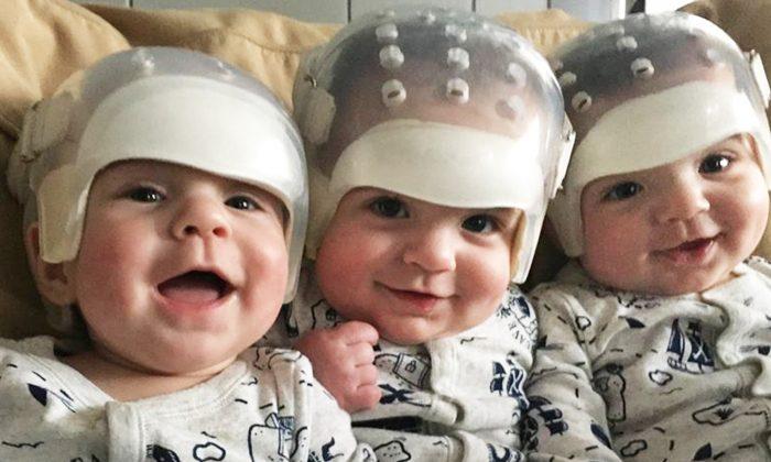 Faites la connaissance des «triplés les plus rares du monde»: ces braves petits garçons ont fait leur entrée dans l'histoire