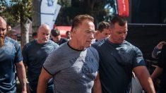 Attaque contre Schwarzenegger: une vidéo montre sous un autre angle ce qu'il s'est passé - l'acteur bouge à peine