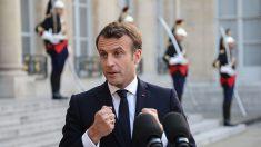 Européennes: Macron remonte au front pour ne pas laisser