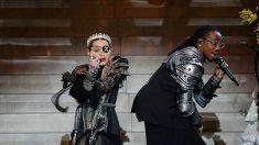 Madonna interprète son nouveau titre «Future» sur la scène de l'Eurovision