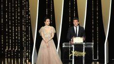 Cannes: Antonio Banderas reçoit le prix d'interprétation masculine