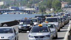 Mobilisations de taxis, ambulanciers, auto-écoles: opérations escargots et ralentissement