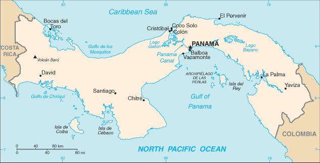 Séisme de magnitude 6,1 au Panama (USGS)