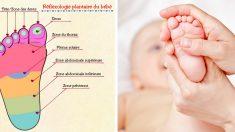 6 conseils de réflexologie pour détendre presque instantanément votre petit bébé