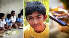 Un jeune «génie de la technologie» crée une application Smartphone pour aider les enfants affamés