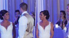 Le marié nerveux fait complètement paniquer sa femme en lui annonçant qu'ils sont désormais une «famille de 3»