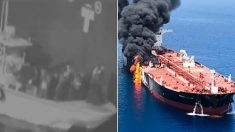 Une vidéo de l'armée américaine montre les forces iraniennes retirant une mine non explosée d'un pétrolier dans le golfe d'Oman