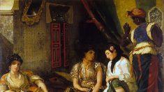 Un Delacroix orientaliste retrouvé et exposé à Paris