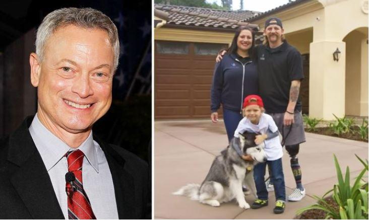 Gary Sinise offre à un ancien combattant de l'armée américaine une maison intelligente gratuite après qu'il a perdu ses deux jambes en Afghanistan