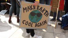 La température de la planète qui monte devra redescendre