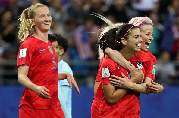 Football féminin: les États-Unis atomisent la Thaïlande 13-0