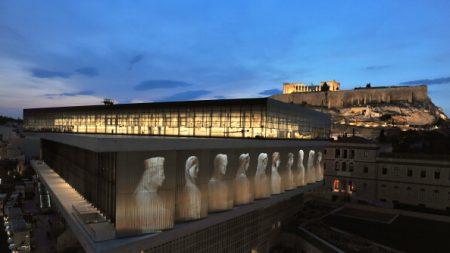 Pour ses 10 ans, le musée de l'Acropole présente de nouveaux vestiges d'Athènes