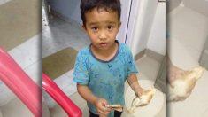 Un garçon de 6 ans reçoit un prix après avoir apporté à l'hôpital un poussin qu'il a accidentellement renversé