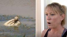 Une femme voit un homme jeter un sac dans le fleuve, elle plonge pour le récupérer et a une horrible surprise