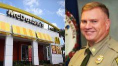 Un policier se rend chez McDonald pendant la pause mais le personnel refuse de le servir en lui disant : «Je ne suis pas au service de la police »