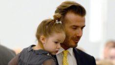 David Beckham sévèrement critiqué après avoir partagé une photo de lui embrassant sa fille sur la bouche