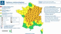 La chaleur monte sur la France, déjà 53 départements en vigilance canicule