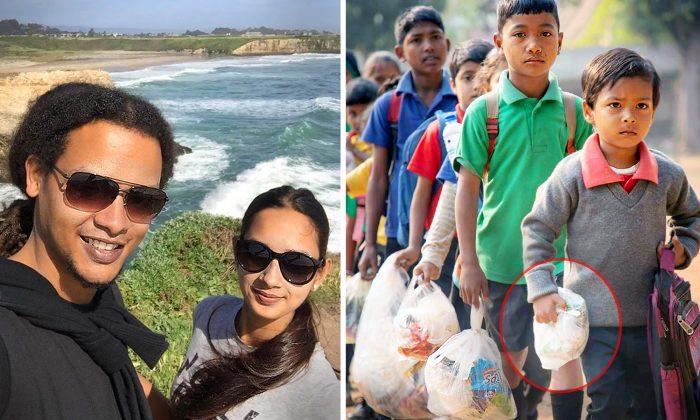 Un couple crée une école pour les enfants pauvres qui accepte de recycler des déchets plastiques à la place des frais de scolarité