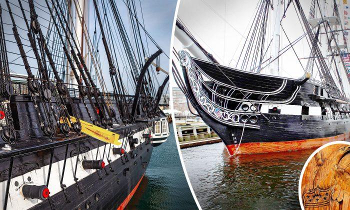 Le navire de guerre à flot le plus ancien du monde date des années 1700 et est toujours en service