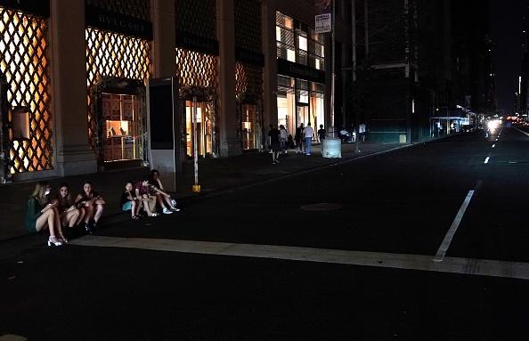 Panne de courant géante à New York