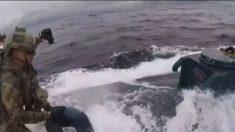 ÉTATS-UNIS: une vidéo spectaculaire montre la Garde côtière saisissant un « sous-marin de narcotique » rempli de cocaïne d'une valeur de 206 millions de d'euros