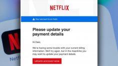 Mise en garde de la police: des arnaqueurs utilisent Netflix pour voler des renseignements personnels