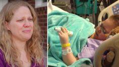 Les parents se préparent à dire au revoir à leur fille mourante, mais elle se réveille et dit 7 mots