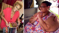 Une femme de 340kg souffrant d'obésité morbide révèle comment elle a perdu 270kg en 3 ans